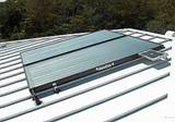 Solar water heater double panel system by AEP solar